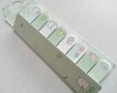 Sumikko Gurashi Lovely Stick Marker  -120 sheets - Green