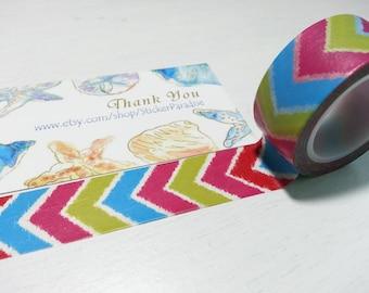 Colorful  Washi / Masking Tape - 20mm x 10M