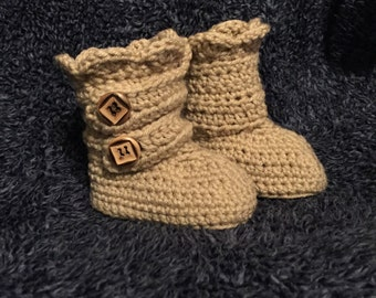 Crochet Baby/Toddler Snow Boots