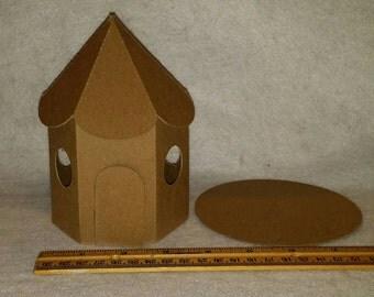 Cardboard Fairy House - DIY