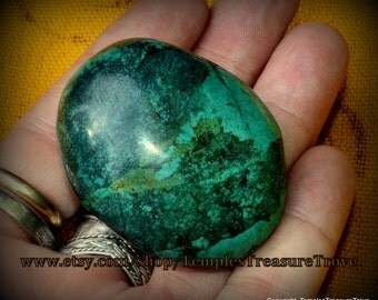 HUGE Blue Green Mottled Natural Turquoise Bead in Caribbean Tones 300.35 Carat Egg Shaped Focal Bead 60.05 Gram with Lots of Dark Matrix