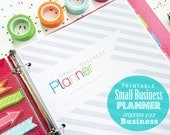 Small Business Planner, Printable - INSTANT DOWNLOAD - Small Business and Etsy Shop Planner