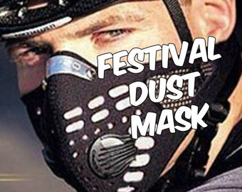Great Festival Dust Mask - Half Face with mouth muffle - Burning Man