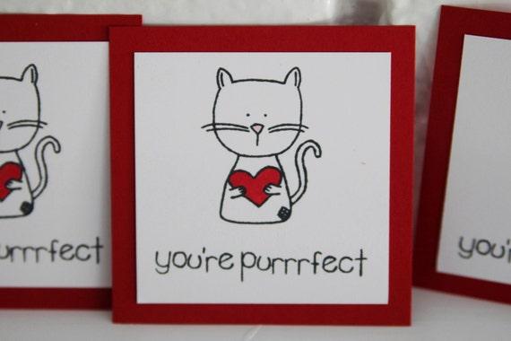 like this item - Cat Valentine Cards