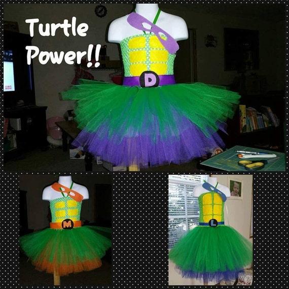 Turtle Power Tutu Costumes