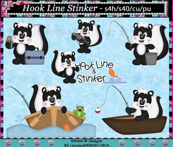 Pencilmation: Hook Line and Stinker :