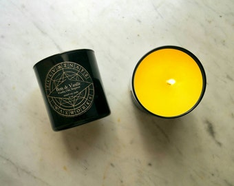 Bois de Vanille, Vanilla Candle, Gothic Candle, Scented Soy Candle, Wood Scented Candle, Winter Candle Scent, Autumn Candle, 12 oz Tumbler
