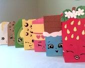 Shopkins-Inspired Printables for Gift Sacks (Instant Download)