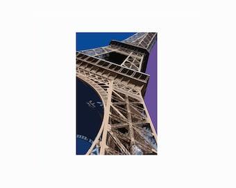 Eiffel Tower photo, digital print, wall art, canvas wall art, framed print, print, buy a print, Paris, travel print, contemporary wall art.