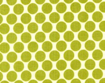 Timeless Lotus Full Moon Polka Dot in Lime by Amy Butler for Free Spirit Fabrics - Half Yard or By the Yard