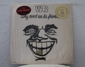 """War - """"Why Can't We Be Friends"""" vinyl record"""