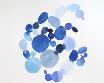 "13"" x 16"" Dots 7 - Original Painting"