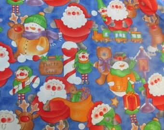 Santa's Workshop on Blue