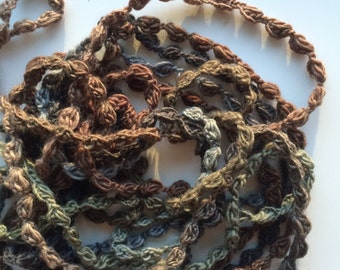 FELDSPAR,    Crocheted Necklace, Bracelet, 13