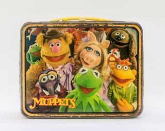Vintage Muppets Metal Lunchbox