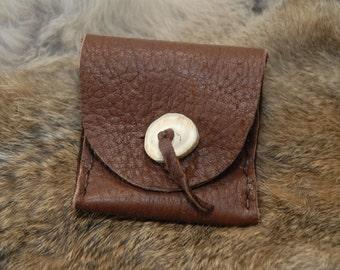 Elk hide pouch - Mens pouch
