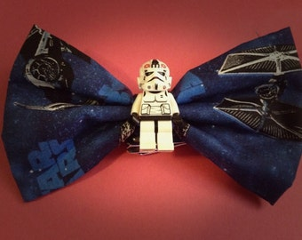 Custom Star Wars Lego Hair Bow