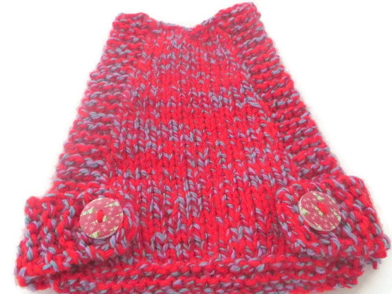 Chunky knit Chicken Sweater 7 1/2 inch / 19 cm length