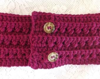 Crochet ear warmer earwarmer crochet headband crochet head band handmade ear warmer