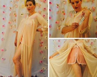 Vintage Lorraine Mid Century Nightgown/Robe