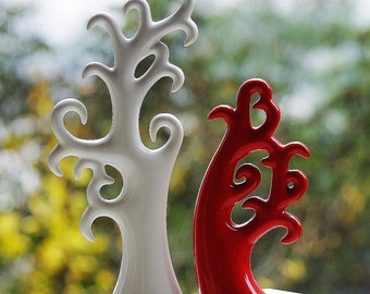 China Porcelain Lover Tree Abstract Artwork for Home/Hotel/Office Decoration