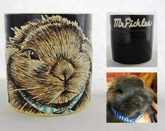 Custom small pet urn, rabbit urn, sympathy gift, sympathy, bird urn, animal urn, send a photo and conversation and I'll create an urn.