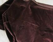 Antique Velvet 34 x 16 Vintage Sewing Fabric German Velveteen 1920s Dolls Bears