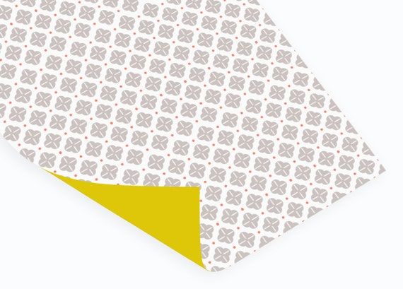 Orson wrapping paper // Double sided // folded // 50x70 cm