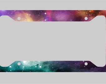 Space - Nebula / License Plate Frame