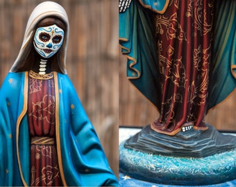 Day of the Dead Virgin Mary