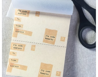 Collage Design Address Labels - Classiky 60pcs
