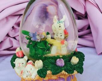 Easter Snow Globe!