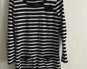 Breton Stripe Hobbs mini dress