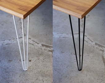 3 rod Style Hairpin Table Legs made to order Australia