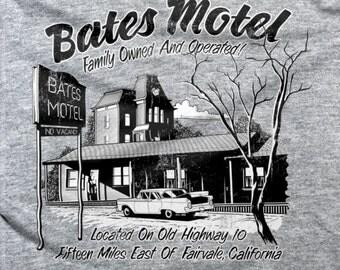 Bates Motel T-shirt Parody Psychos Norman Bates