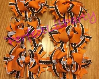 Fall/ Halloween/ Thanksgiving Bow