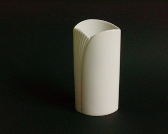 AK Alboth & Kaiser bisque bisquit porcelain vase by M. Frey Germany