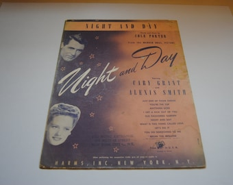 Day and Night/Vintage Sheet Music