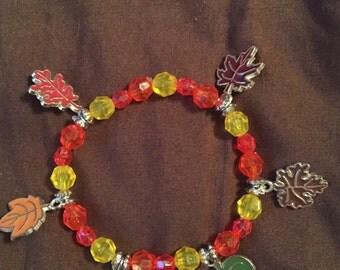 Fall Splendor charm bracelet