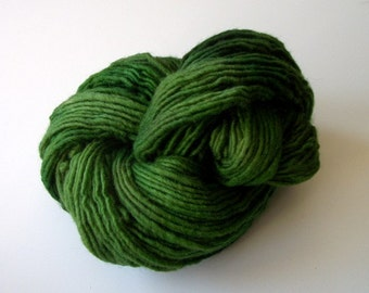 Hand dyed wool yarn worsted weight 180+ yds.