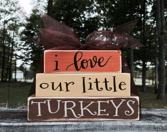 Turkey Love Block Set