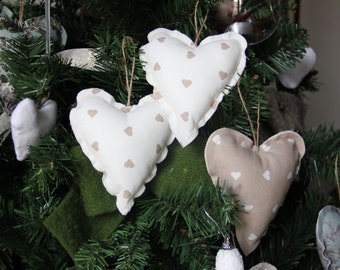 set of 6 decorations