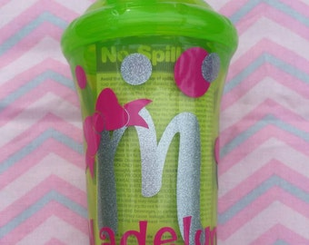 Personalized Sippy Cup, Sippy Cup, Toddler, Birthday Gift, Baby Shower