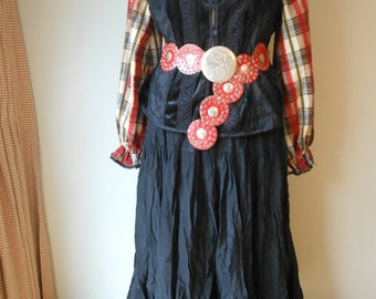 Fortune Teller Gypsy  Pirate Wench Renaissance Pagan Pirate Large XL