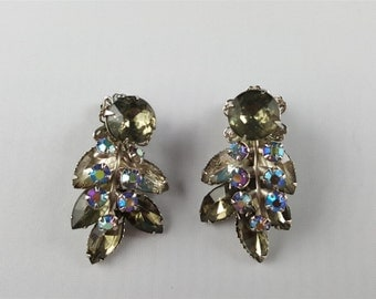 Beaujewels Beautiful Rhinestone Earrings.