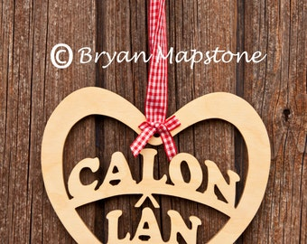 Calon Lan (Strong heart) Heart