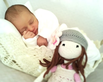 Cute amigurumi doll. Best frind