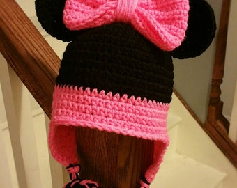 Minnie Earflap Hat