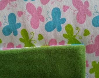 Spring Butterflies blanket