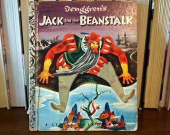 Jack and the Beanstalk - Vintage Little Golden Book #179